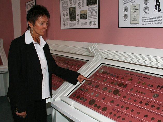 ředitelka Jihomoravského muzea Vladimíra Durajková