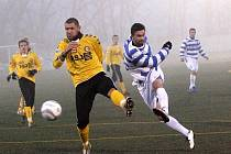 Fotbalisté 1. SC Znojmo podlehli Jihlavě 2:3.