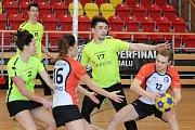 Vyrovnané jihomoravské derby s Korfbalovým klubem Brno doma v neděli sehráli v rámci předposledního kola extraligy znojemští Modří sloni.