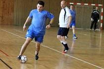Policisté, justiční stráž, hasiči a zdravotníci se utkali ve futsalovém souboji ve znojemské sportovní hale.