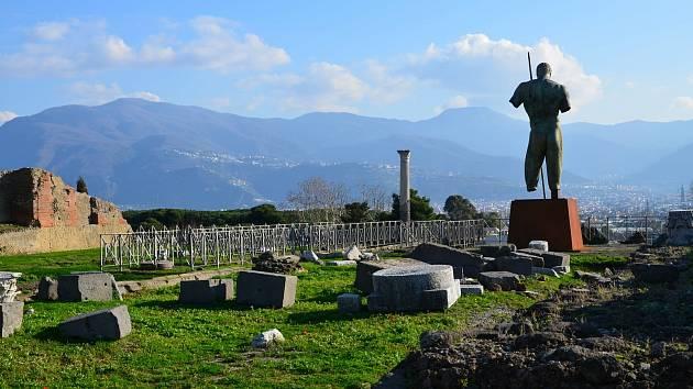 Z návštěvy v Pompejích. ohlédnutí za výletem na jih Itáie. Foto Přemysl Karpíšek
