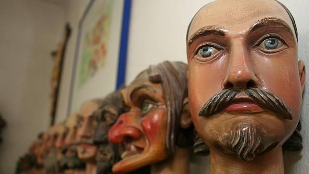 Už dvacátý rok podniká v oboru výroby loutek Pavel Mašek