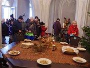 Vánoční prohlídky lákaly o víkendu na Bítov už po desáté. Hrad si přišlo prohlédnout na tisíc návštěvníků.