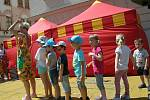 Sobota patřila ve Znojmě dětem. Stanoviště s úkoly ověřily zručnost i bystrost soutěžících.