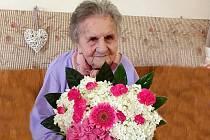 Marie Holíková z Blížkovic na Znojemsku oslavila patnáctého července 109 let.