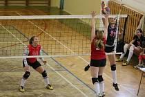 Volejbalistky Znojma bojují o titul přebornic a případnou baráž.