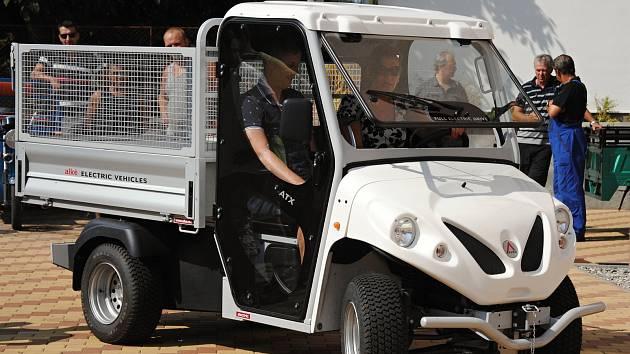 Znojmo koupí dva elektromobily v hodnotě 1,8 milionu korun. Ilustrační foto.