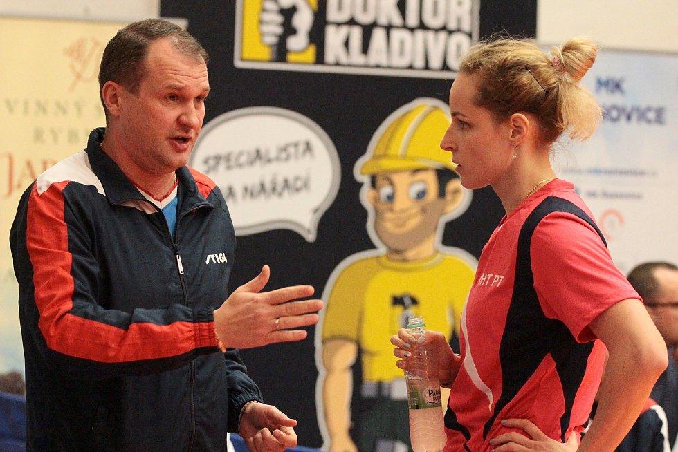 Moravskokrumlovské stolní tenistky prohrály v osmifinále poháru ETTU s Kazaní.