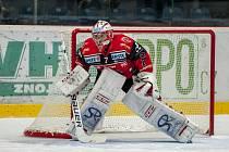 Hokejový brankář Patrik Nechvátal.