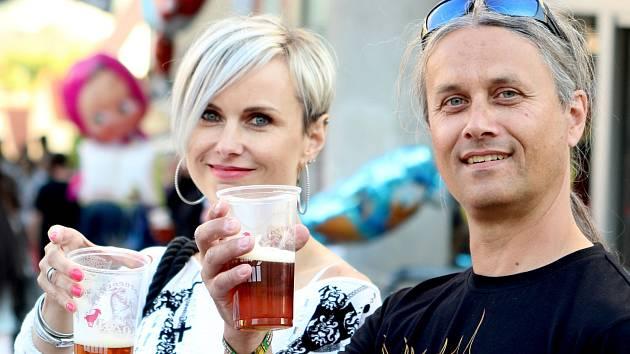 Znojmo patřilo pivu a muzice. Znojemská beseda připravila ve své režii třetí Pivní slavnosti.