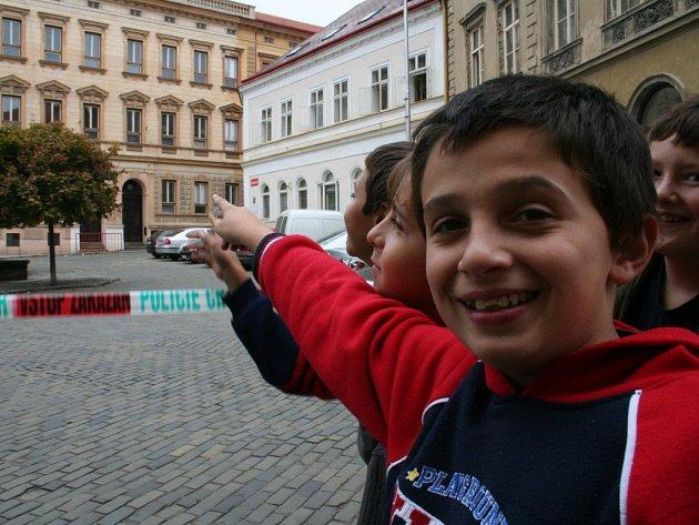 Václavské náměstí uzavřela výhrůžka