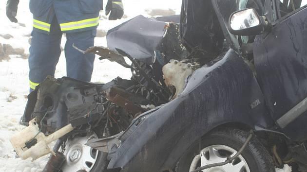 Tragická nehoda u obce Lesná