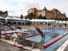 V plaveckém bazénu v Louce se konala 46. Velká cena Znojma v plavání.