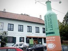 Firma Vinné sklepy Lechovice vyrábí své víno v podniku v Boroticích. Podnikovou prodejnu s restaurací však zná podstatně více lidí. Ta je v Lechovicích, a potkávají ji řidiči na cestě mezi Brnem a Znojmem.