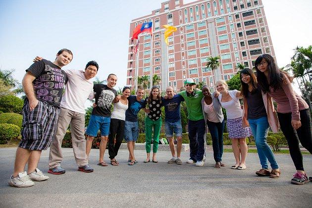 Tchai-Wan, univerzita STUST. Škola a spolužáci.