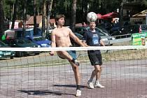 Další ročník nohejbalového turnaje Vranovské léto.