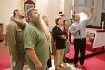 Stovky návštěvníků přilákala v pátek do centra Znojma Muzejni noc i chrámy otevřené u příležitosti Noci kostelů.
