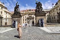 Další výlet do Prahy, tentokrát s kamarádem Fritzem z Kremsu.