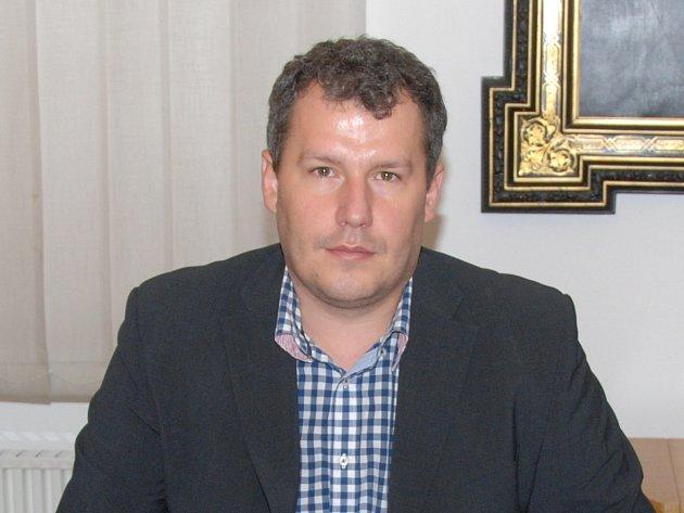 Starosta Znojma Vlastimil Gabrhel.