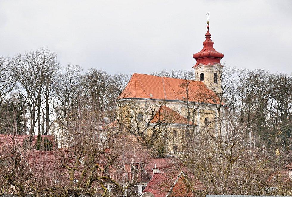Kostel Zvěstování Panny Marie v Břežanech je postavený v barokním slohu a je kulturní památkou chráněnou památkovým úřadem v Brně.