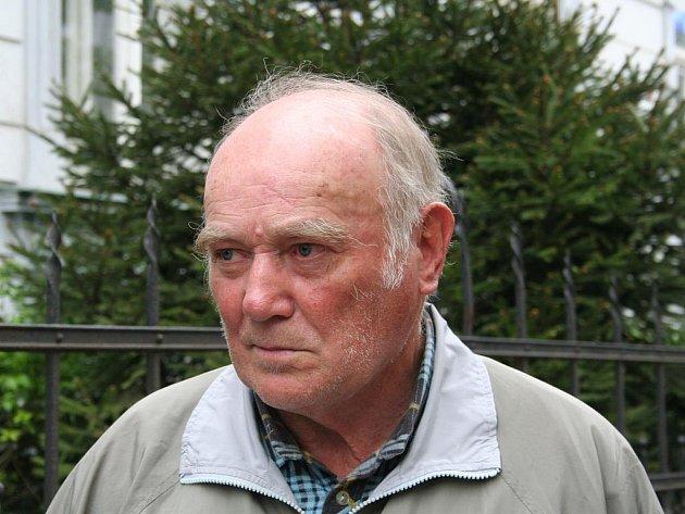Důchodce František Procházka.