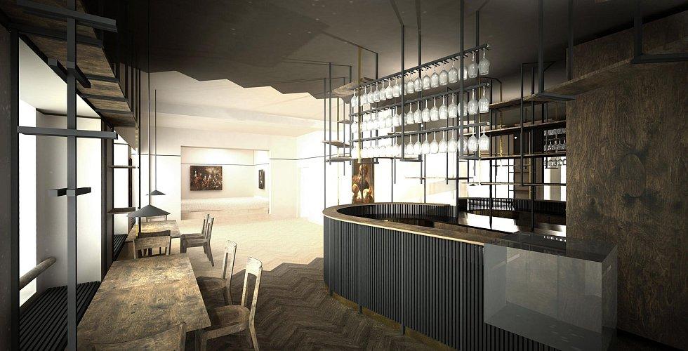 V domě na rohu ulice Kollárova a náměstí Republiky ve Znojmě vzniká nová galerie s kavárnou. Má název Galerie a Prostor.