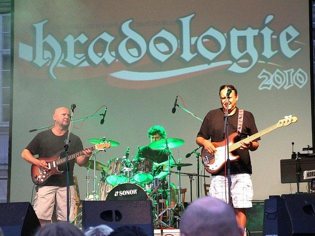 Putovní hudební festival na zámku ve Vranově nad Dyjí.