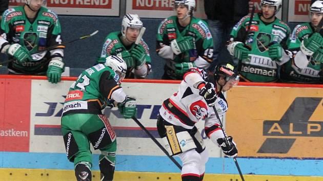 Vítězstvím 5:1 nad Lublaní se znojemští Orli posunuli blíže k postupu do vyřazovacích bojů.