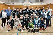Úspěšní znojemští žáci po vítězství v turnaji.