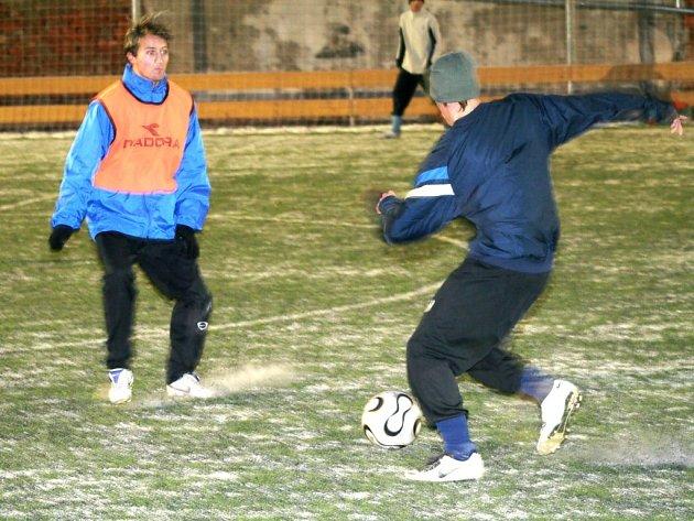 Zimní příprava znojemských fotbalistů