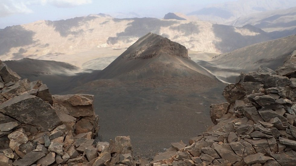 Z výpravy do pohoří Atlas v severní Africe.