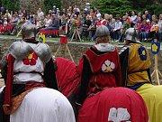 Znojemské vinobraní otevřely rytířské turnaje.
