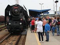 Zážitkovou jízdu připravily České dráhy k oslavám 145 let železničních tratí na Znojemsku.