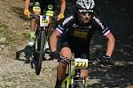 Už po třinácté vyrazily v sobotu desítky cyklistů na trasu Lahofer Cupu kolem Vranovské přehrady.
