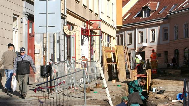 Ulice Kollárova ve Znojmě. Ilustrační foto.
