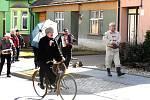 Tradiční masopust oslavili v sobotu i ve Vémyslicích. Foto: archiv městyse