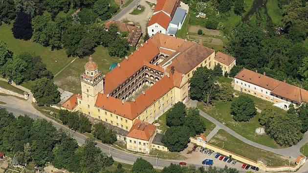 Zámek v Moravském Krumlově.