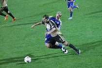Znojemští fotbalisté nestačili na prvoligovou Jihlavu a po porážce 0:5 v domácím poháru končí.