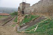 Znojmo hodlá zpřístupnit novou část hradebního příkopu.