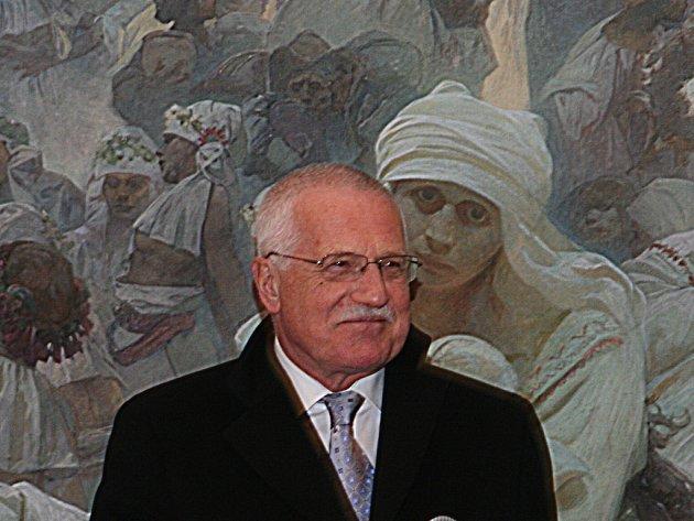 Prezidentský pár na Znojemsku