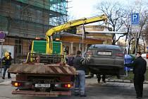 Zavedení nového parkovacího systému ve Znojmě se odkládá. Ilustrační foto.