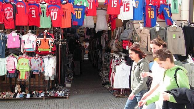 Tržnice v centru Znojma
