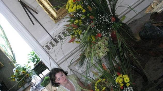 Vranovský zámek provoněly květiny