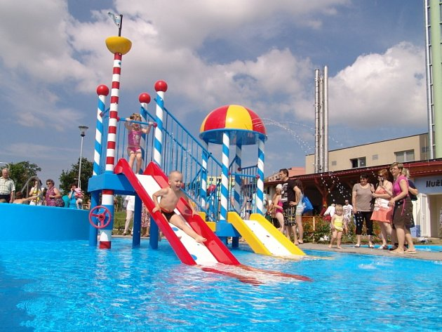 Obyvatelé Moravského Krumlova mají od 5. července zbrusu nové koupaliště.