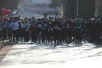 Znojmo na první svátek vánoční znovu ožilo tradičním běžeckým závodem.
