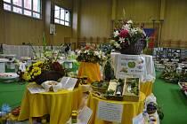 Ze Znojemské zemědělské výstavy. Hlavní motiv letošní výstavy Potravinou ke zdraví.