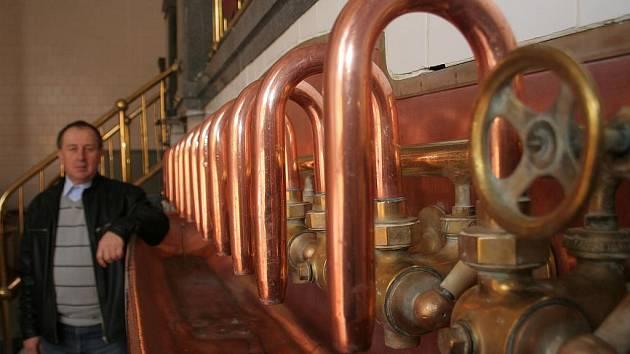 Interiér bývalého znojemského pivovaru. Ilustrační foto.