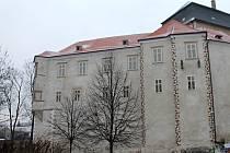 Zámek v Miroslavi. Ilustrační foto.