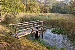 Nový leták přibližuje rybníky v Národním parku Podyjí.
