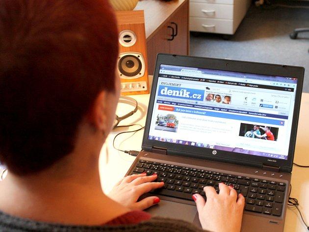 Čtenáři internetové podoby Znojemsého deníku Rovnost vstupují často do diskusí pod texty. Většinou anonymně.